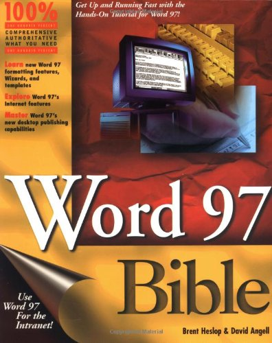 9780764530388: Word 97 Bible