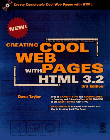 9780764530401: Creating Cool Html 3.2 Web Pages
