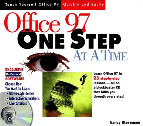 9780764530500: Office 97 One Step at a Time