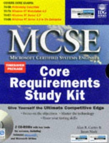 McSe Core Requirements Study Kit (Mcse Certification: Alan R. Carter,