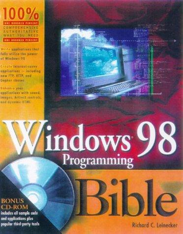 9780764531859: Windows 98 Programming Bible