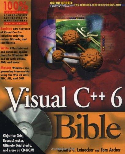 9780764532283: Visual C++ 6.0 Bible