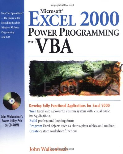 9780764532634: Microsoft Excel 2000 Power Programming with VBA