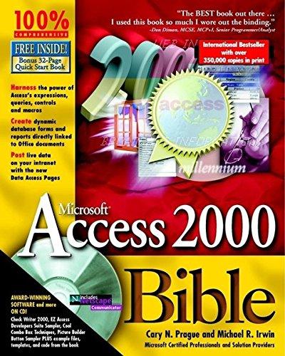 9780764532863: Access 2000 Bible