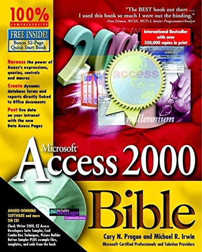 9780764532863: Microsoft Access 2000 Bible