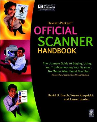 9780764533044: Hewlett-Packard? Official Scanner Handbook