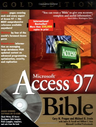 9780764533556: Microsoft Access 97 Bible