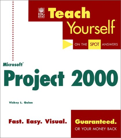 9780764534003: Teach Yourself Microsoft Project 2000 (Teach Yourself (IDG))