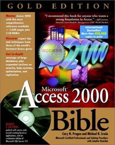 9780764534041: Microsoft? Access 2000 Bible