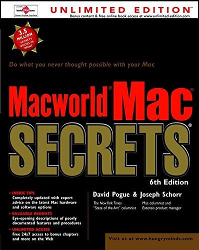 9780764534157: Macworld? Mac? Secrets?