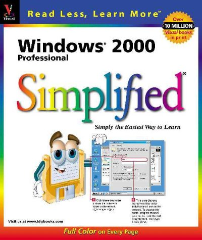 Windows 2000 Professional Simplified (Idg's 3-D Visual: Kelleigh Wing, Ruth