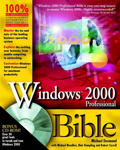 9780764534249: Windows 2000 Professional Bible