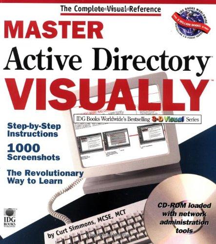 9780764534256: Master Active Directory VISUALLY (Idg's 3-D Visual Series)