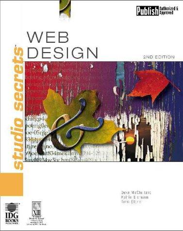 9780764534553: Web Design Studio Secrets