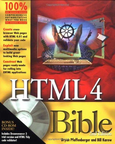 9780764534737: HTML 4 Bible