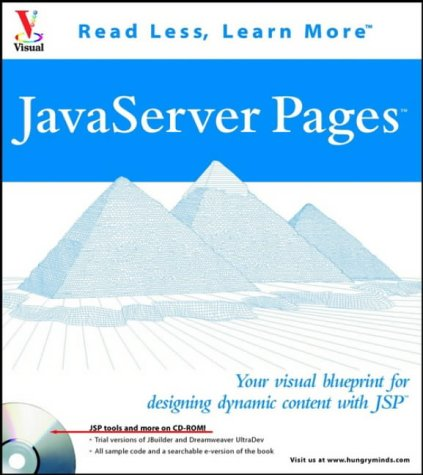 9780764535420: Java Server Pages: Your Visual Blueprint for Designing Dynamic Content (Visual Read Less, Learn More)