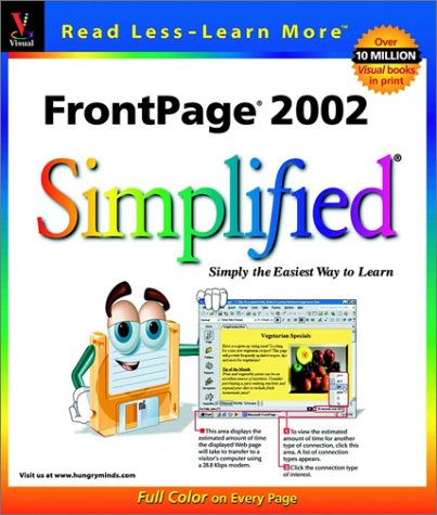 9780764536120: FrontPage 2002 Simplified (Visual)