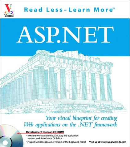 9780764536175: ASP.NET: Your visual blueprintfor creating Web Applications on the .NET framework (Visual (Software))