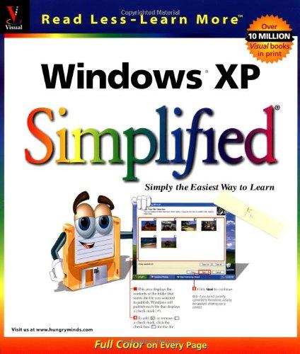 9780764536182: Windows XP Simplified (Visual from Marangraphics)