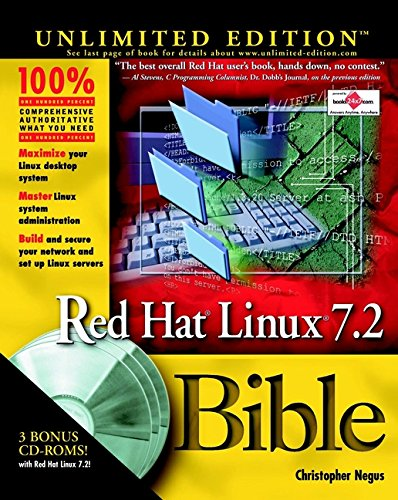 9780764536304: Red Hat Linux 7.2 Bible