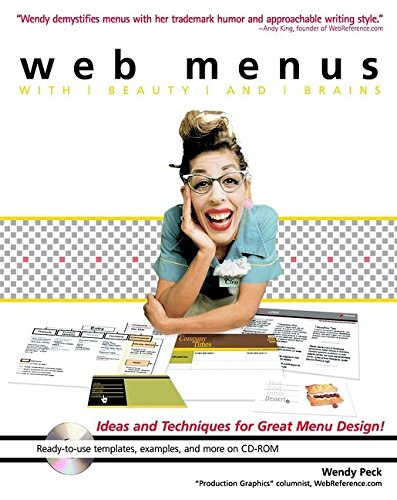 9780764536434: Web Menus with Beauty and Brains