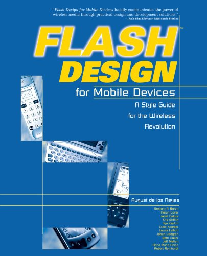 9780764536472: Flash Design for Mobile Devices