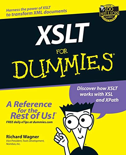 XSLT For Dummies (0764536516) by Wagner, Richard