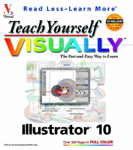 9780764536540: Teach Yourself VISUALLY Illustrator? 10