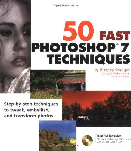9780764536724: 50 Fast Photoshop 7 Techniques