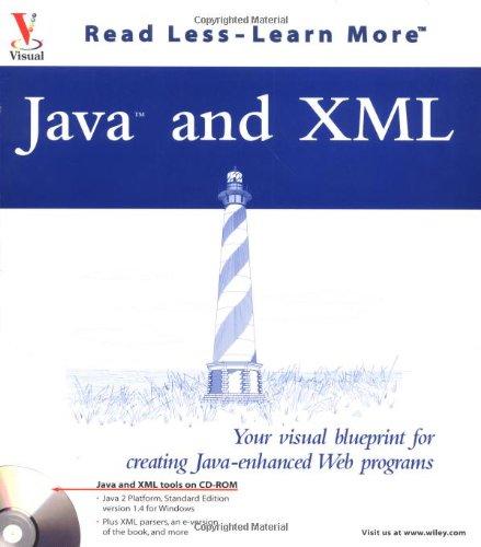 9780764536830 java and xml your visual blueprint for creating java 9780764536830 java and xml your visual blueprint for creating java enhanced web programs malvernweather Gallery