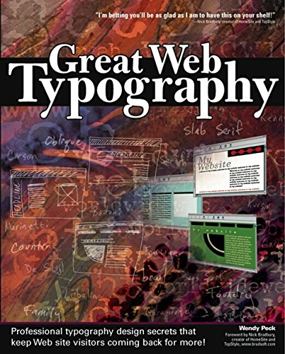 9780764537004: Great Web Typography