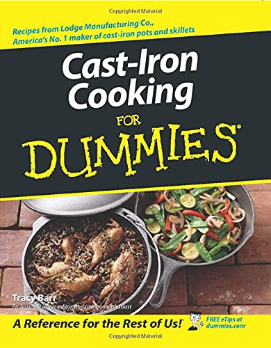 9780764537141: Cast Iron Cooking For Dummies