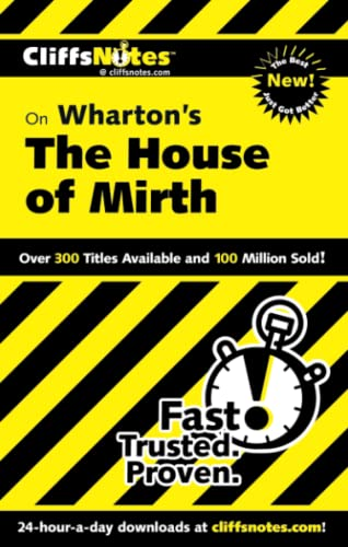 9780764537165: CliffsNotes on Wharton's The House of Mirth (CLIFFSNOTES LITERATURE)