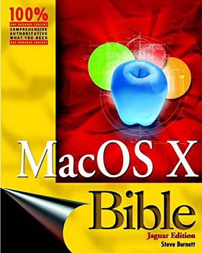 9780764537318: Mac OS X Bible, Jaguar Edition