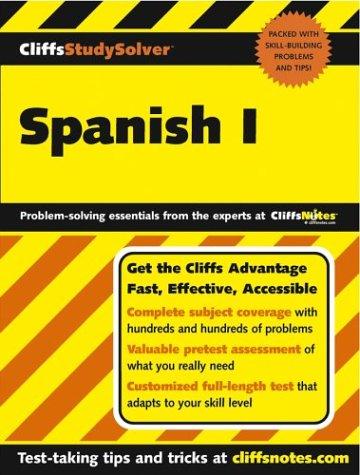 CliffsStudySolver Spanish I: Gail Stein; Cliffs