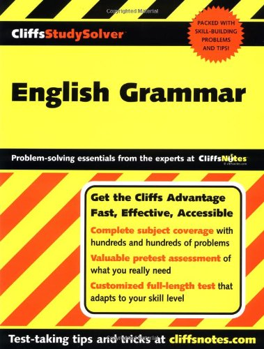 English Grammar (Cliffs Study Solver): Jeff Coghill, Stacy Magedanz
