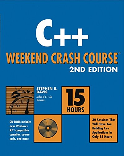 9780764538308: C++ Weekend Crash Course