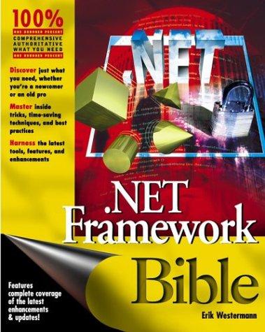 9780764538315: Net Framework Bible