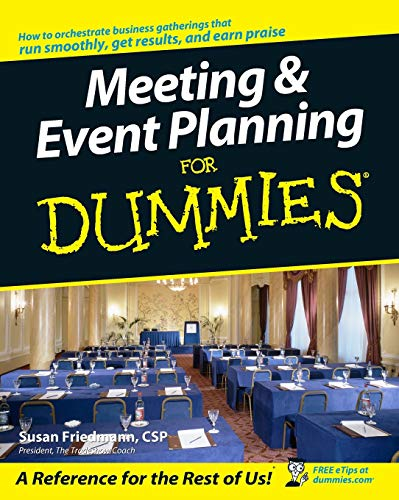 9780764538599: Meeting & Event Planning for Dummies