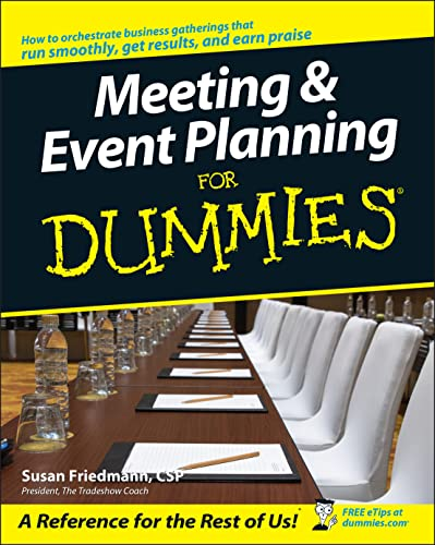 9780764538599: Meeting and Event Planning For Dummies