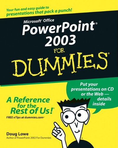 9780764539084: PowerPoint 2003 for Dummies