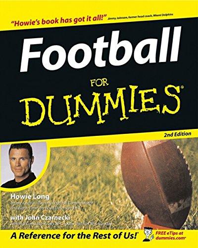 9780764539367: Football For Dummies