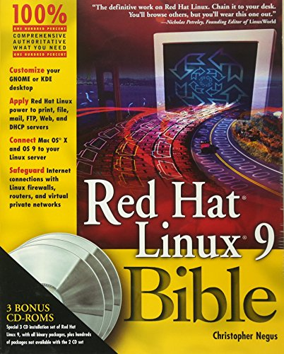 9780764539381: Red Hat Linux 9 Bible