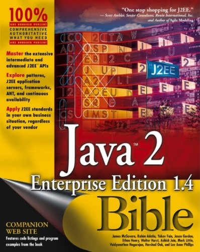 Java 2 Enterprise Edition 1.4 (J2EE 1.4): James McGovern, Rahim