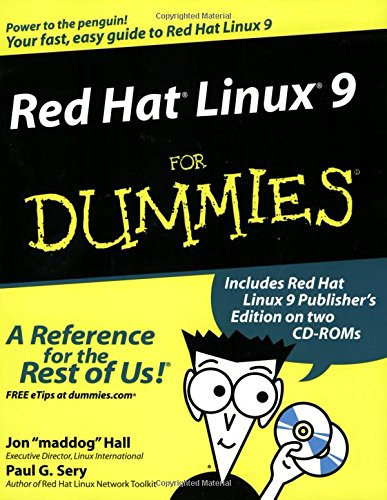 9780764539909: Red Hat Linux 9 For Dummies (For Dummies (Computers))