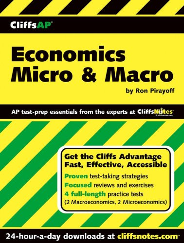 CliffsAP Economics Micro & Macro: Pirayoff, Ronald