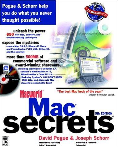 9780764540400: Macworld? Mac? Secrets?