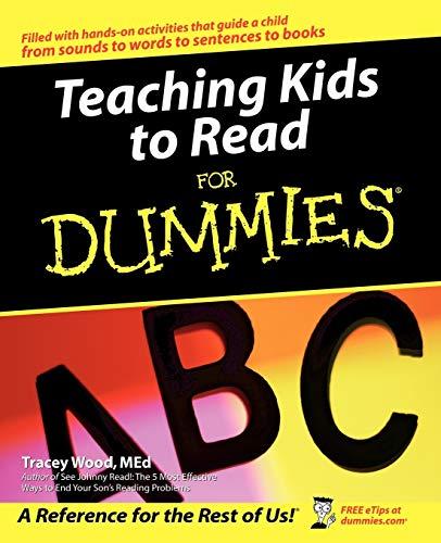 9780764540431: Teaching Kids to Read For Dummies