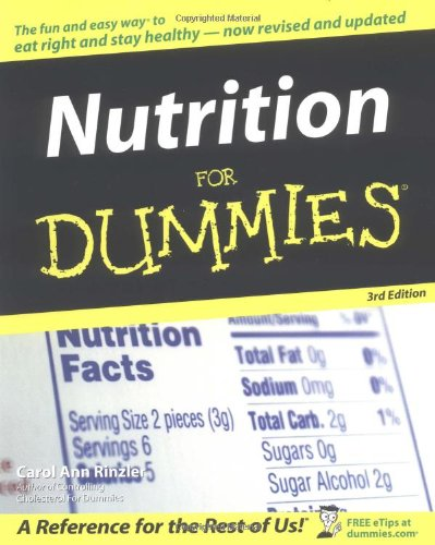 9780764540820: Nutrition For Dummies