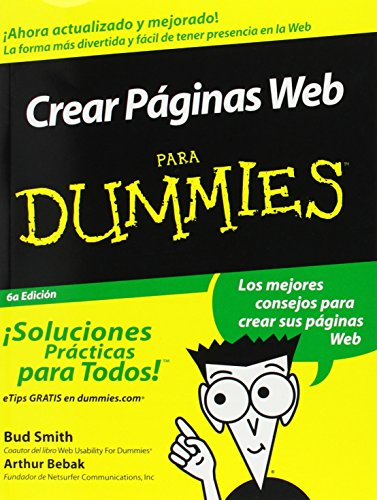 9780764540981: Crear Paginas Web Para Dummies = Creating Web Pages for Dummies